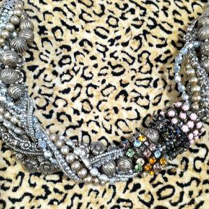 💥BOGO💥Chunky Layered Chain Bib Necklace